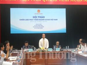 Chiến lược mới cho ngành Cơ khí Việt Nam