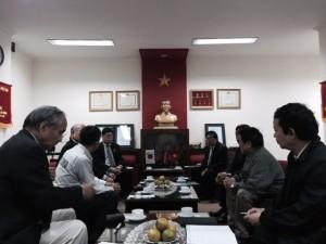 Tổng hội Cơ khí Việt Nam: Tiếp Đoàn Công tác Hội Công nghiệp Khuôn đúc Nhật