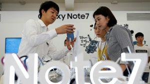 Pin trên Galaxy Note 7 vẫn có vấn đề sau khi sửa đổi?