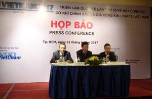 Triển lãm ngành công nghiệp cơ khí – MTA Việt Nam 2017