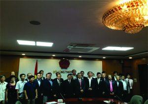 Tổng hội Cơ khí Việt Nam: Tiếp Đoàn Công tác Hiệp hội Khuôn đúc Nhật Bản