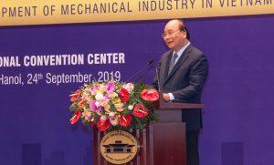 Thủ tướng Chính phủ Nguyễn Xuân Phúc chủ trì Hội nghị về các giải pháp thúc đẩy phát triển ngành cơ khí Việt Nam