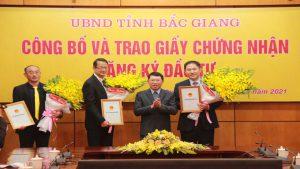 Dự án đầu tư triệu USD tại Bắc Giang của Foxconn